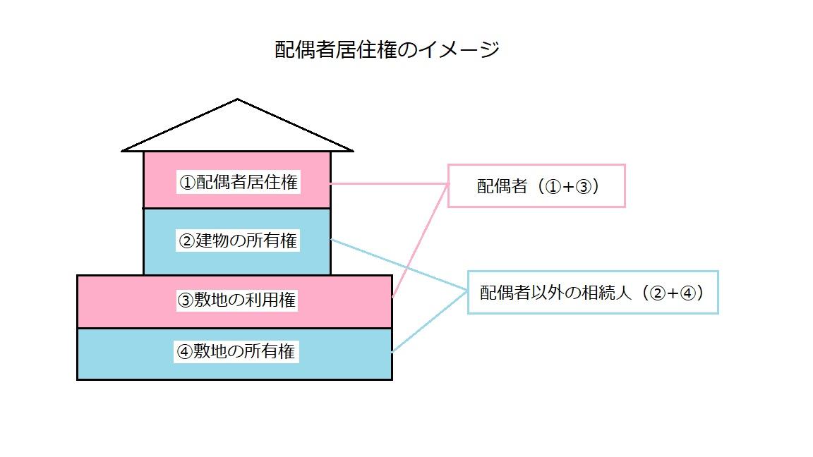 配偶者居住権のイメージ